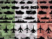 Spese militari: in Italia e nel mondo