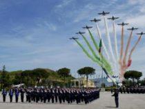 Aeronautica Militare celebra i suoi 95 anni di vita: oggi le Frecce Tricolori a Firenze