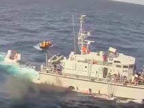 La marina militare italiana coordina la guardia costiera libica?