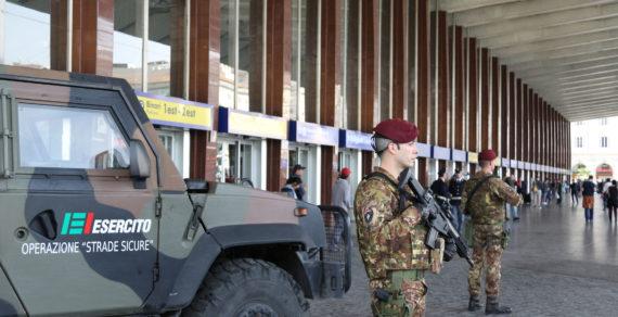 Ministro Trenta in difesa di due militari di Strade Sicure
