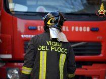 VV.F.: Ricambio del personale impegnato in interventi prolungati