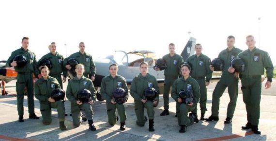 """Latina. Aeroporto """"Comani"""", spiccano il volo i nuovi piloti dell'Aeronautica"""