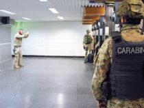 Squadrone Eliportato Carabinieri Cacciatori di Calabria: al poligono di tiro