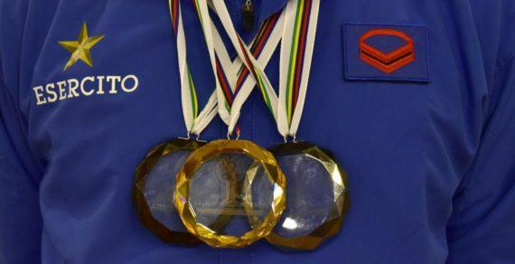 I Campioni degli sport invernali a SME. Il Generale Farina incontra gli atleti – sezione sport invernali – che hanno conquistato il podio alle Olimpiadi di Pyeongchang e in Coppa del Mondo