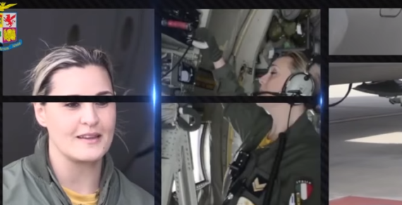 A tu per tu con il Load Master dell'Aeronautica Militare