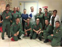 Da Sigonella doni e sorrisi ai bambini della pediatria del Policlinico di Catania
