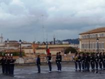 Cambio della guardia d'onore al Quirinale