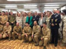 ESTERO/Iraq: Pinotti si congeda dai militari italiani