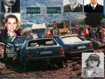 23 Maggio 1992 Strage di Capaci: L'omaggio a Giovanni Falcone, alla moglie e alla scorta