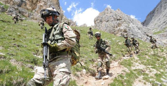 Esercitazioni per il 2° Reggimento Alpini