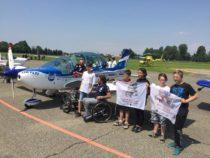 A Cremona i ragazzi disabili sono riusciti a volare con piloti d'eccezione