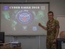 Conclusa esercitazione Cyber Eagle 2018