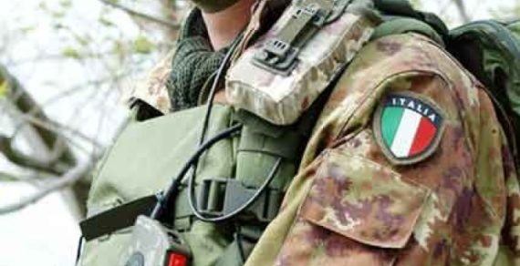 Esercito in aiuto contro la criminalità