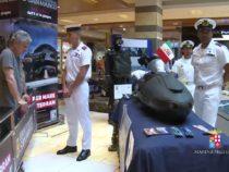 """Evento della Marina alla galleria commerciale """"Porta di Roma"""""""