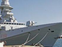 Rientrata a Taranto la nave Alpino