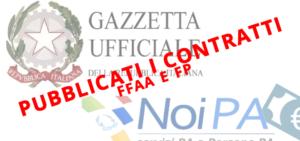 Contratti FFAA e FP