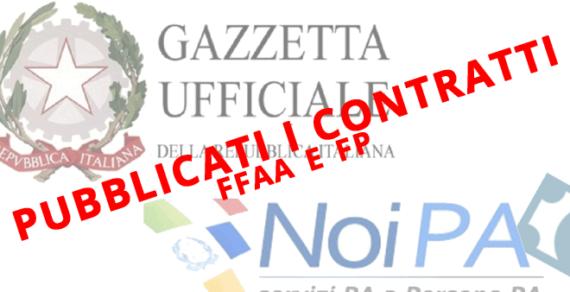 Contratto FFAA: Pubblicato il contratto e in arrivano gli arretrati!