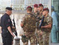 Sicurezza: l'Esercito sui luoghi sensibili