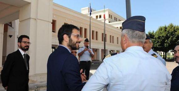 Difesa:Angelo Tofalo visita l'Aeroporto Militare di Capodichino
