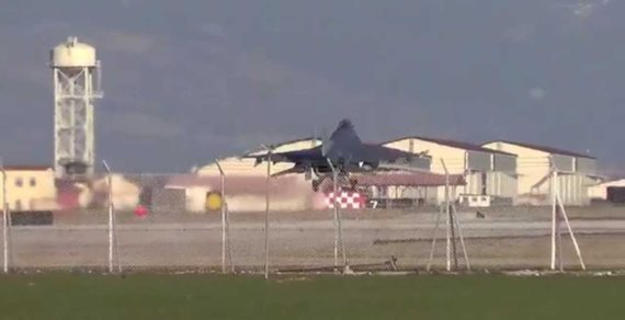 Base Aviano: esercitazioni notturne fino al 9 agosto