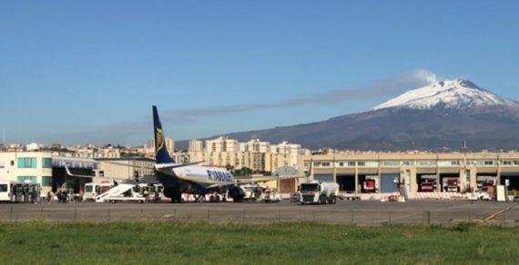 Aeroporto di Fontanarossa vicino di casa della base di Sigonella