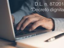 Lavoro: Decreto Dignità, le modifiche all'esame della Camera