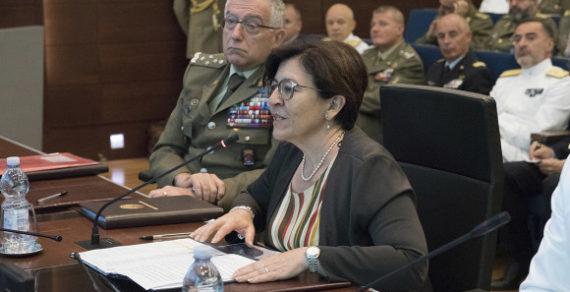 Difesa: Incontro tra il Ministro Trenta e le rappresentanze militari
