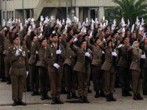 I volontari delle Forze Armate dopo il giuramento