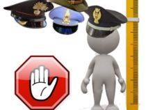 Forze Armate: Il divieto di limiti di altezza nei concorsi
