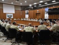 Riunione tra il Generale Farina e i rappresentanti COCER