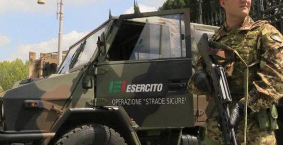 Operazione Strade Sicure: Sul territorio nazionale impiegate 7050 unità