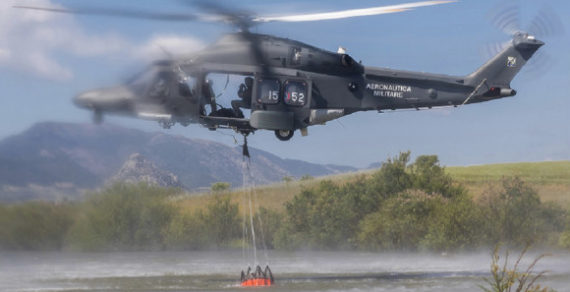 Calabria e Sicilia: Le Forze Armate impegnate nella lotta agli incendi boschivi
