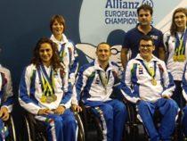 Successo delle Fiamme Oro agli europei di nuoto paralimpico