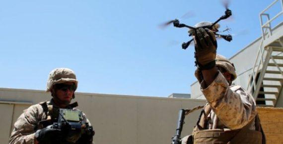 Estero:Droni militari per fornire supporto alle truppe di terra