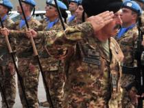 Libano: Unifil, prima visita ufficiale del Generale Farina