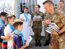 Kosovo: militari italiani in aiuto a scuole e studenti