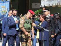 Cacciatori di Puglia: La cerimonia a Vico del Gargano