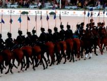 Attività equestre dell'Esercito al Global Champions Tour
