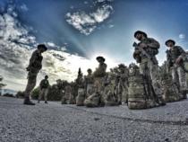 """Addestramento del 121° Reggimento Ravenna sulla """"Via degli Dei"""""""