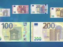 Le nuove banconote da 100 e 200 euro