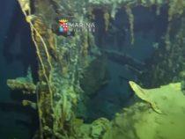"""Marina Militare: Nuova esplorazione sul relitto """"Corazzata Roma"""""""