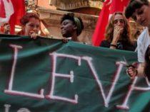 Studenti veneti protestano contro la leva obbligatoria