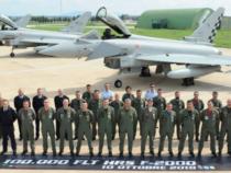Aeronautica Militare: Traguardo prestigioso del velivolo F2000