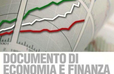 Nota Aggiornamento Documento Economia e Finanza (NADEF) 2018