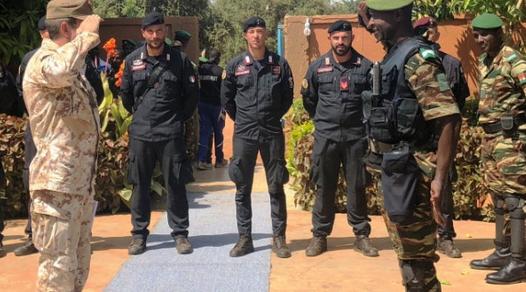 Niger: I Carabinieri terminano primo corso per l'ordine pubblico