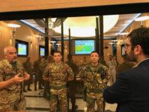 Incontro tra Angelo Tofalo e i vertici dell'Esercito
