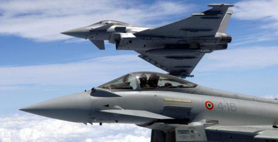 Aeronautica Militare: simulazione minaccia terroristica in volo