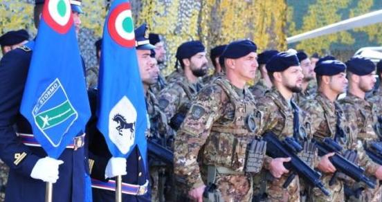 """Consegna del Basco ai militari Corso """"Fucilieri dell'Aria"""""""