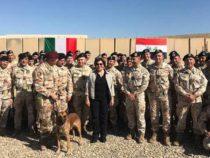 Mosul: Trenta incontra i militari della task force Presidium
