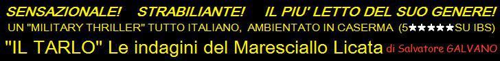Il Tarlo, le indagini del maresciallo Licata, di Salvatore Galvano